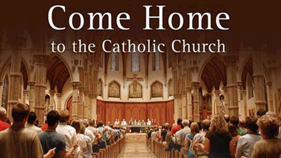 Link to information for returning Catholics