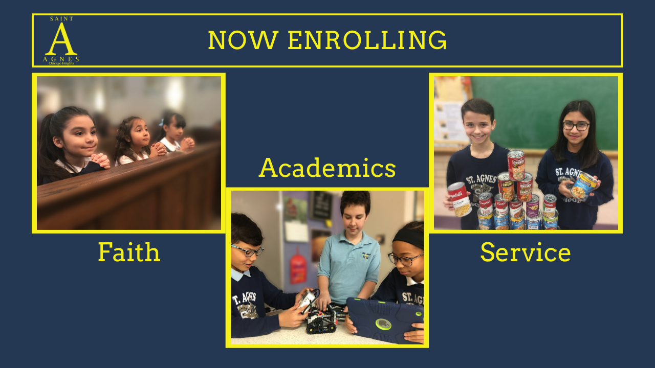 Decorative Enrollment Graphic